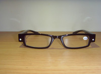 Wholesale Lighting glasses reading glasses reading glasses to honor their parents resin glasses reading glasses with LED lights