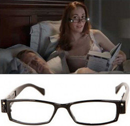 Wholesale Fashion Multi Strength LED Eyewear Reading Glasses Eyeglass Spectacle Diopter Magnifier Light Up for Men Women Work Camping