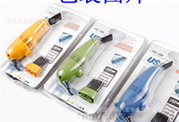 Wholesale New sets USB Mini Computer Vacuum Small USB Brush CM cleaner clean vacuum USB type of colorful Computer Cleaner Free Ship