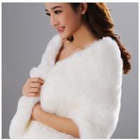 Wholesale wedding dress bride shawl wool shawl dress spring and winter white hot Gift hot sale