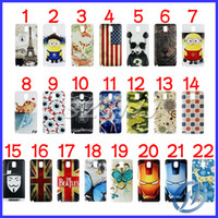 Wholesale Design Plastic Back Housing Cover For Samsung Galaxy Note III N9000 N9005 Cute Despicable ME Chelsea Cartoon Battery Door