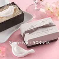Wholesale Factory directly sale wedding favor Love Dove Scented Soap favor