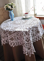 Wholesale Battenburg Lace Tablecloth home decor wedding decoration Drop Shipping