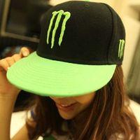 Wholesale Hot Fluorescent color ghost hat hip hop baseball hat qjq388