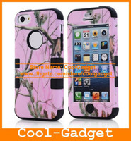 Wholesale 3 Layer Camouflage Shock Proof Hybrid CellPhone Cover Silicone Impact Case Pouch for iPhone C iPhone5C C IP5CC91