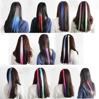Wholesale 50 New Colorful Women Lady Synthetic Bohemia Braids Headband Hair Clip Extension