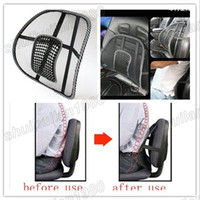 Wholesale Car Seat Office Chair Massage Back Lumbar Support Mesh Ventilate Cushion Pad