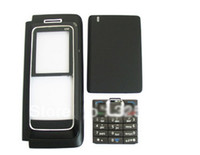 e90 For Nokia  30pcs lot Full housing case replace battery cover repairs keypad buttons for Nokia E90 mobile phone faceplates