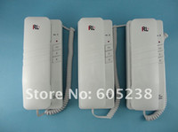 Wholesale RL aaa Door Phone Inter phone Intercom with triple indoor units way intercom