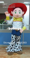 toy story clothing - Cartoon Clothing popular cowgirl jessie mascot costume party costumes fancy toy story character mascot dress costuymes outfit good quality