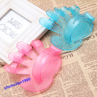 Wholesale Pc Hand Shape Dogs amp Cats Pet Grooming Bath Massage Glove Brush Comb