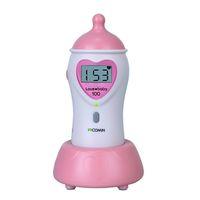 Wholesale Cutie Feeding Bottle shaped Baby Prenatal Fetal Doppler Home Use FHR LCD Pocket Heart Rate Monitor w Speaker Earphone Mhz Pregnancy Fetus