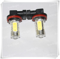 Wholesale 50 High Power Car Fog Light HB4 W With Lens LED Fog Light Super Bright Headlight Fog Bulb Lamps