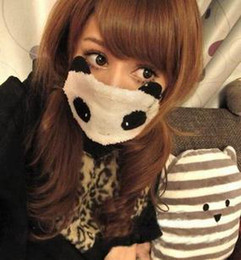 Wholesale Cute Mask For Women Christmas Panda Style Cheap Mix prs B