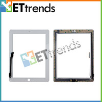 Wholesale Touch Screen Digitizer Assembly with Home Button for iPad Black White AA0071