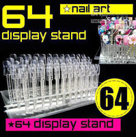 Wholesale NAIL ART PRACTICE DISPLAY STAND RACK STICK nails Nail Art