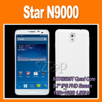 Android Dual SIM GSM850 Star N9000 MTK6589T Quad Core Note 3 FHD 1GB 16GB 5.7 Inch Dual Cameras 13.0MP 3G GPS WIFI Bluetooth VIA epacket (0301116)