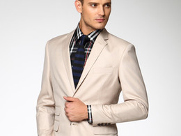 Wholesale 2014 New Year Hot sale off Modern tuxedos Gun collar Wool polyester blend groom wedding suit wedding suits