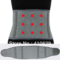 Cheap New Best Tourmaline Magnetic Therapy Belt Lumbar Back Waist Support Brace Double Banded Adjustable Pad M X XL Option Wholesale
