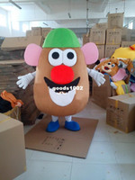 Wholesale Cartoon Clothing Mr potato Head of Toy Story Mascot Costume Fancy Dress Outfit EPE good quality