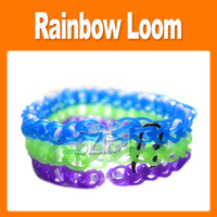 Big Kids Multicolor Plastic Rainbow loom kit rainbow loom DIY rubber wrist bands bracelets with(600 pcs bands+24 pcs S clips+1 pcs Hook+1 pcs shell+packaged) 1501002