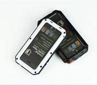 Wholesale 1 LUNATIK TAKTIK STRIKE Polymer Case with tempered glass Fingerprint recognition For iPhone S