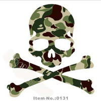 Wholesale 100pcs freeshipping camouflage tags luggage notebook paster bike sticker