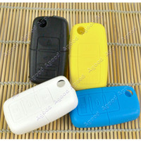 Wholesale 5pcs New Keyless Entry Remote Fob Silicone car Key case Cover For VW