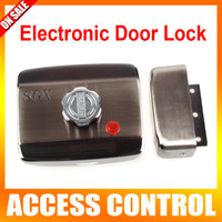 Wholesale Electronic Door Lock Visual Doorbell Single Cylinder Mute Electric Lock For Access Control Lock System