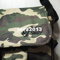 Wholesale 10PCS Bass Pro Shop Multi purpose camo color fishing bag camouflagecolor Fishing Tackle Bags fly lure Waterproof fabrics pockets