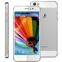 al por mayor jiayu g5-G5 original G5 + MTK6589T JiaYu 4.5 pulgadas IPS Quad Core 13MP cámara 1.5GHz 1G 2 GB de RAM Android 4.2 GPS OTG Desbloqueado 3G Smart Mobile del teléfono celular