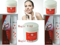 Wholesale YIQI Beauty Whitening Spot Remover Whitening Cream sets Day Night Pearl Cream Facial Cleanser Free Gift Whiten Cream Nourish Face
