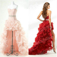 2015 Sweetheart A- Line Prom Dresses with Crystal Beading Hot...