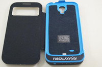Wholesale For GALAXY S4 mAh External Battery Cover Power Bank Cover Case Charging Back Cover