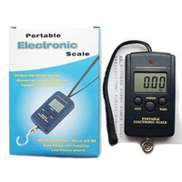 Cheap S5Q 40kg LCD Portable Weighing Hanging Fishing Luggage Kitchen Digital Scales new AAAADU