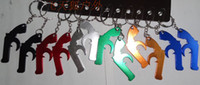 Wholesale NEW Cute pistol Key chain Wedding favours Wedding favor gift bottle openers cv16