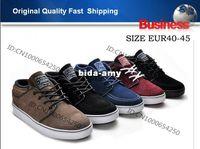 Wholesale best quality Mens Skateboard MID LOW SB Zoom Stefan Janoski Shoes Fashion Branded Skate Shoes SIZE EUR