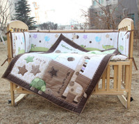 Babies Boys 0-3 months,4-6 months,7-9 months,10-12 m the single-animal high deer baby bedding package baby three-piece baby bedding bed around