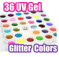 Wholesale HOT Sale High Quality Color Glitter UV Gel For Nail Art Desgin colors Pro Products