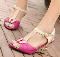 Wholesale NEW wedges sandals fashion women dress sexy shoes pumps P6428 Hot sale EUR size Promdressshop