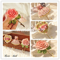 Wholesale Wall Mounted Vintage Rose Hat Coat Robe Hook Door Bathroom Towel Clothes Rack Hanger Resin