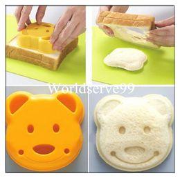 Wholesale DIY Breakfast Bear Sushi Rice Sandwich Mould Bread Toast Cookie Cake Mold Cutter