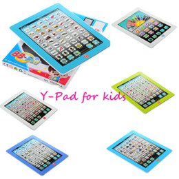 Wholesale I pad Y pad Table Learning Machine English For Kids Child Educational Computer Tablet Toy Gift