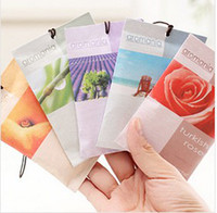 Wholesale Aromatherapy sachet bags creative home wardrobe sachets sachet can be hung with a small car odor g sachets