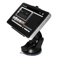 Wholesale S6Q quot LCD Touch Screen FM Free Map Sat Nav Car MP4 MP3 GPS Navigation Navigator AAAAVJ