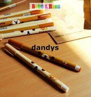 Wholesale Children s stationery New cute Cartoon kawaii bear gel ball pen Fashion Style Promotion Gift dandys