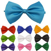 bowties - High Quality New style Fashion Man and Women printing Bow Ties Neckwear children bowties Wedding Bow Tie