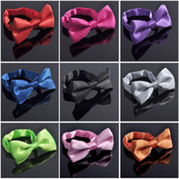 Wholesale High Quality Mix Colors children s bowtie Fashion Man and Women printing Bow Ties Neckwear Wedding Bow Tie