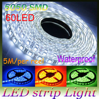 Wholesale Super sell V White M leds Waterproof SMD LED Strip Light Flexible led Strip