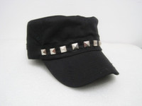Wholesale Hot Silver rivet cap women cap baseball cap qjq399